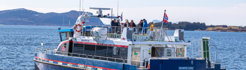 Florø Skyssbåt - M/S Skorpefjord - skyssbat.no