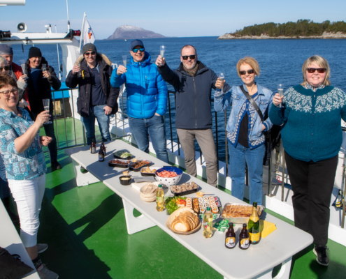 Florø Skyssbåt - M/S Skorpefjord firmatur - skyssbat.no